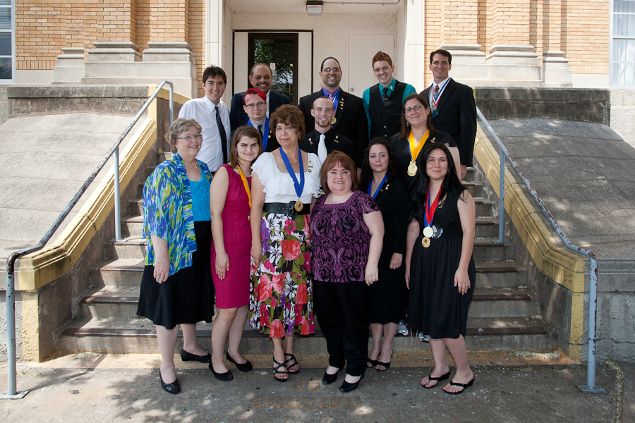 Chartering Ceremony, May 2012