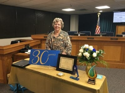 Mary Kohls and her recognitions.